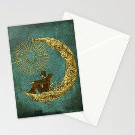Moon Travel Stationery Cards