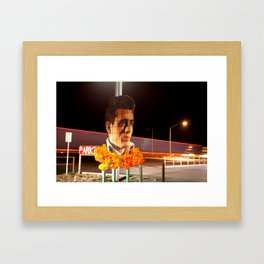 James Dean Fly by Night Framed Art Print