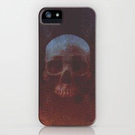 Protosequence Crimson iPhone Case