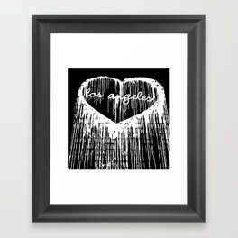 I Heart L.A. Framed Art Print