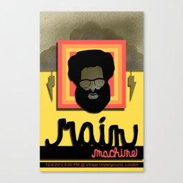 Rain Machine Poster Canvas Print