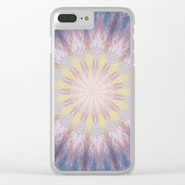 Journey through the wormhole Clear iPhone Case