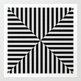 Black & White 3 Art Print