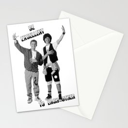 Bill and Ted's Excellent Adventure Stationery Cards