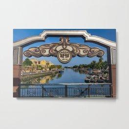 The Town Bridge, Hoi An Metal Print