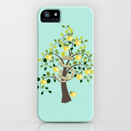 Guarding Golden Apples iPhone Case