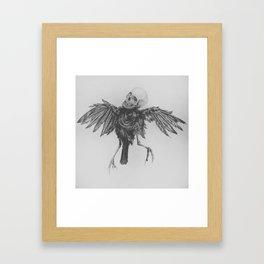 Hell Bird Framed Art Print