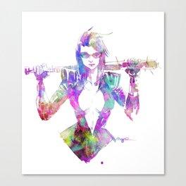 NAIL BAT Canvas Print
