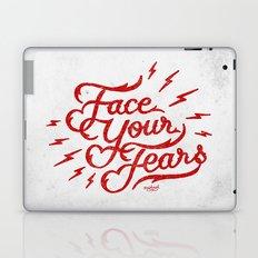 Face Your Fear Laptop & iPad Skin