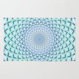 Just Breathe - Mandala Art Rug