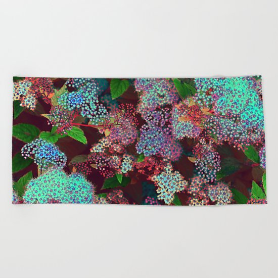 Flower carpet(55) Beach Towel