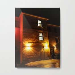 The Mysterious Stranger Upstairs Metal Print