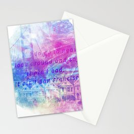 it aint san francisco Stationery Cards