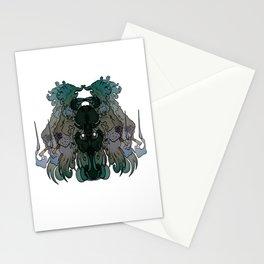 Smoking Lion Stationery Cards