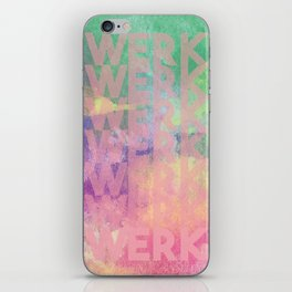 Werk, Werk, Werk! iPhone Skin