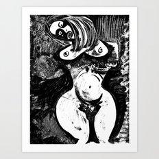 Emulating Picasso Art Print