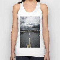 road Tank Tops featuring Road by Nick Verschoor