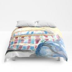 Color-Weaved Basket Comforters