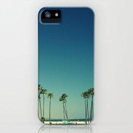 Summer Beach Blue iPhone Case