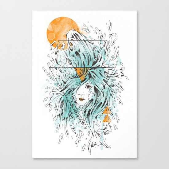 ariel 2.0 Canvas Print