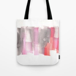 [161228] 26. Abstract Watercolour Color Study |Watercolor Brush Stroke Tote Bag