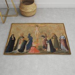 "Fra Angelico (Guido di Pietro) ""The Crucifixion"" ca. 1440 Rug"