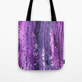 Under The Purple Sea Tote Bag