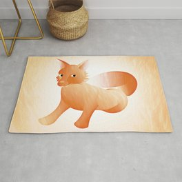 Red Little Fox (Full) Rug