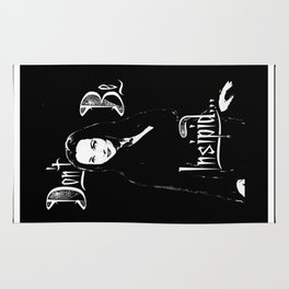 Morticia: Don't be Insipid Rug