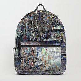 Live abundantly. Risk a moment becoming link able. Backpack