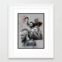 vikings Framed Art Prints featuring Vikings ! by firatbilal