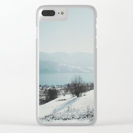 Attersee (10) Clear iPhone Case