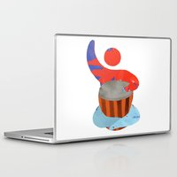 drum Laptop & iPad Skins featuring Own drum by ArtistArt