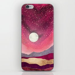 Scarlet Night iPhone Skin