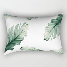 Tropical Banana Leaves Dream #8 #foliage #decor #art #society6 Rectangular Pillow