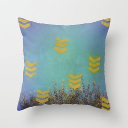 Above the Trees Throw Pillow