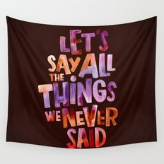 All The Things Wall Tapestry