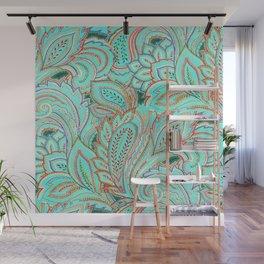 paisley, paisley Wall Mural