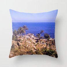 Sunken City  Throw Pillow