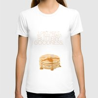 psych T-shirts featuring my body craves buttery goodness.. funny psych tv quote by studiomarshallarts
