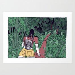 CAYENNE Art Print