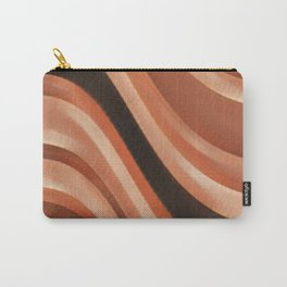 Wave Abstract  Carry-All Pouch