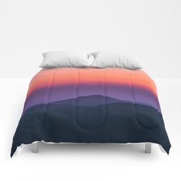 Sunset layers Comforters