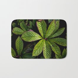 The Palmately Compound Leaf Bath Mat