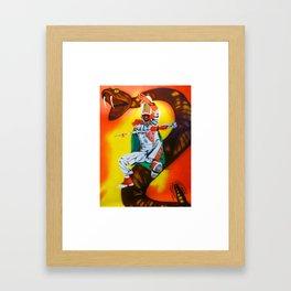 Florida A&M Univ. Framed Art Print