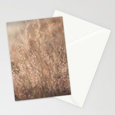 Sunset in the Field Stationery Cards