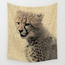 Cheetah cub Wall Tapestry