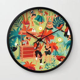 Resort living Wall Clock