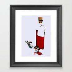 verità Framed Art Print