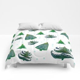 Christmas trees Comforters